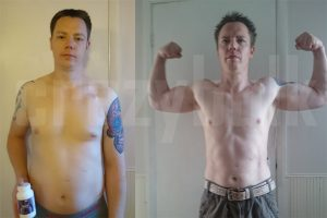 carl before and after results after using trenorol